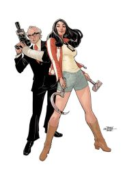 RED ONE #4 Cover by TerryDodson