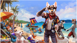 Furrypinas 2019: Out in the Beach by thanshuhai