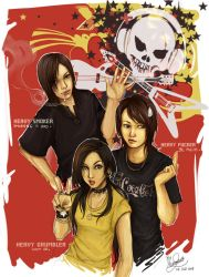 3 kids of Heavy by Master-Sheron