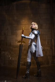 CLARE-CLAYMORE-COSPLAY by andycold