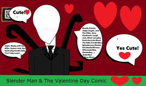 Slender Man And The Valentine Day Comic by taylorwalls14