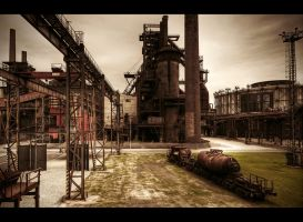 The Rusted Playground by Beezqp