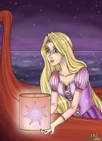 Tangled - My Old Dream by FoxxBrush