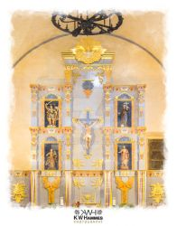 Mission San Jose - Altar - Color by kwhammes