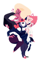 know your fusion - sardonyx by weirdlyprecious