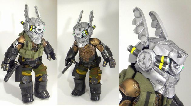 Briareos Hecatonchires Appleseed Plush Commission by Shogun95