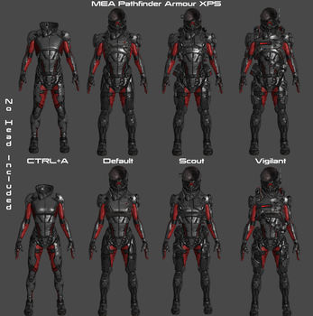 MEA Pathfinder Armour XPS by Padme4000