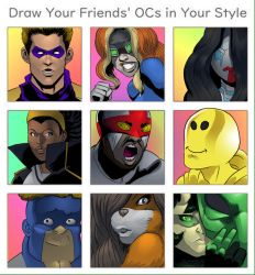 Draw Friends OCs in Your Style by shaneoid77