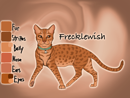 Frecklewish of SkyClan - Sasha's Calling by Jayie-The-Hufflepuff