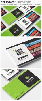 Corporate Business Card - RA80 by respinarte