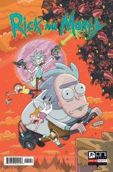 Rick and Morty (Rickmobile Comic Cover) by deanrankine