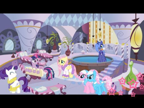 Gif: A Day At The Spa by Chipettes33