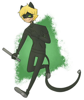 .:Chat Noir:. by PauIsADuck