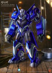 Transformers: Exiles Que by Legend-of-Blackout