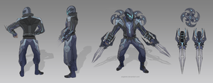 Biker Zed Concept [UPDATED] by xiliuv