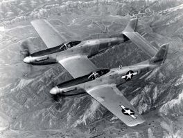F-82 Twin Mustang by tr4br
