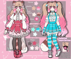 Vianelly Shumii - OC reference by Shumii-chan