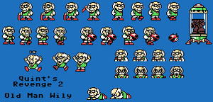 Quint's Revenge 2 - Old Man Wily by ACE-Spark