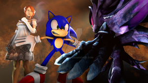 Sonic The Hedgehog Inceptive Chapter One Cover by shadow759