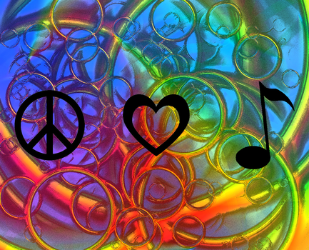 Peace, Love, and Music by cllo-chan