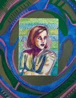 Skeptical Scully by vculver