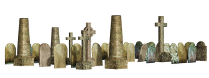 Graves 12 PNG Stock by Roy3D