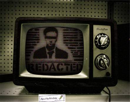 Redacted- Fincher TV Lighting by PenciltipWorkshop