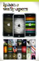 iPhone Wallpaper - Set 1 by angelaacevedo