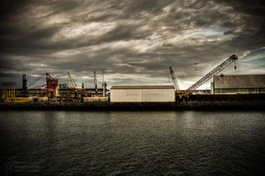 Industrial Harbour by InfuzedMedia