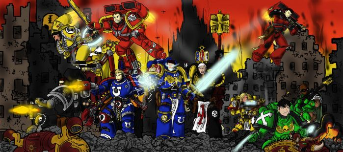 Astartes Primus - ''We are War!'' by BloodAngelsCaptain1