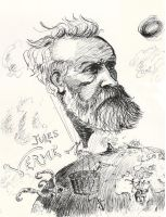 Jules Verne by Miss-Cheshire-Cat