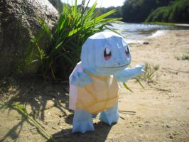 Squirtle papercraft by TimBauer92