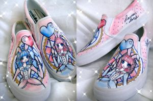 Maddam Bunny Shoes by pinkbutterflyofdeath