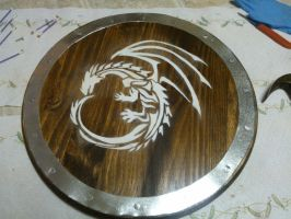 Custom Made Dragon Shield by inuyasha0987