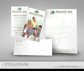 Healthy Air Stores Corp ID by FullcolorCreative