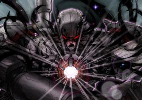 megatron detail by kriksix