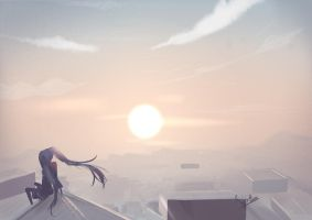 Evening by Risa1