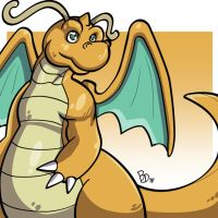 Dragonite03 by The-BlueDragoon