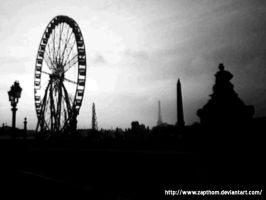 place de la concorde by LEZARD-GRAPHIQUE