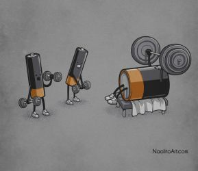 Power lifting by Naolito