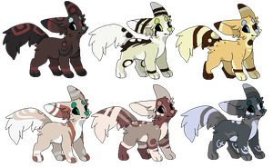 Offer Dog adopts (Closed) by SanityFox
