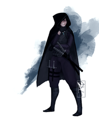 Human Assassin Commission by Gauntes
