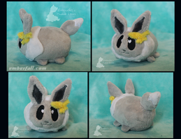 4in Shiny Eevee stacking plush by EmberfallPlush