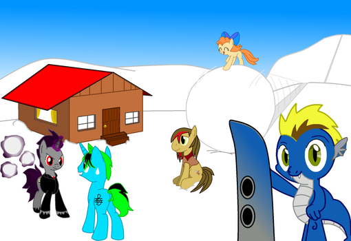 The Admin on a holliday (Winter) by ArdonSword