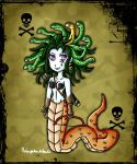 Medusa Clash of the Titans style by ninpeachlover
