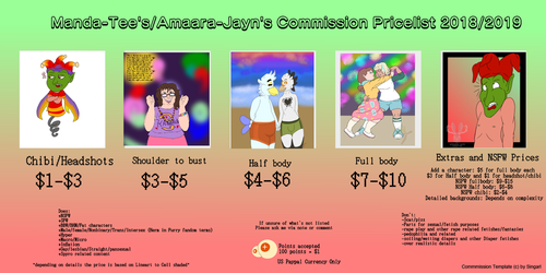 Open commissions 2018-2019 by Amaara-Jayn