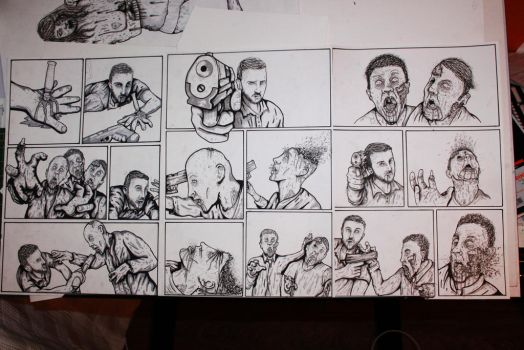 Zombie comic by ReVerbaration