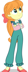 Mlp EqG Megan Williams (happy) vector by luckreza8