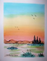 watercolor 4-08-2009 by TomKilbane