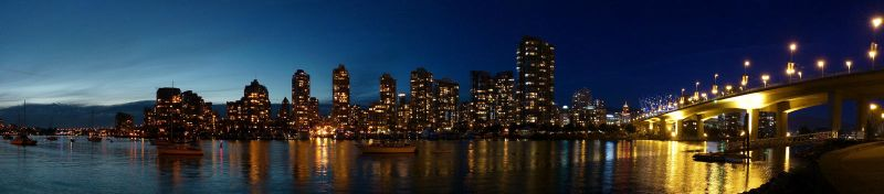 Sunset View from False Creek by zephyron